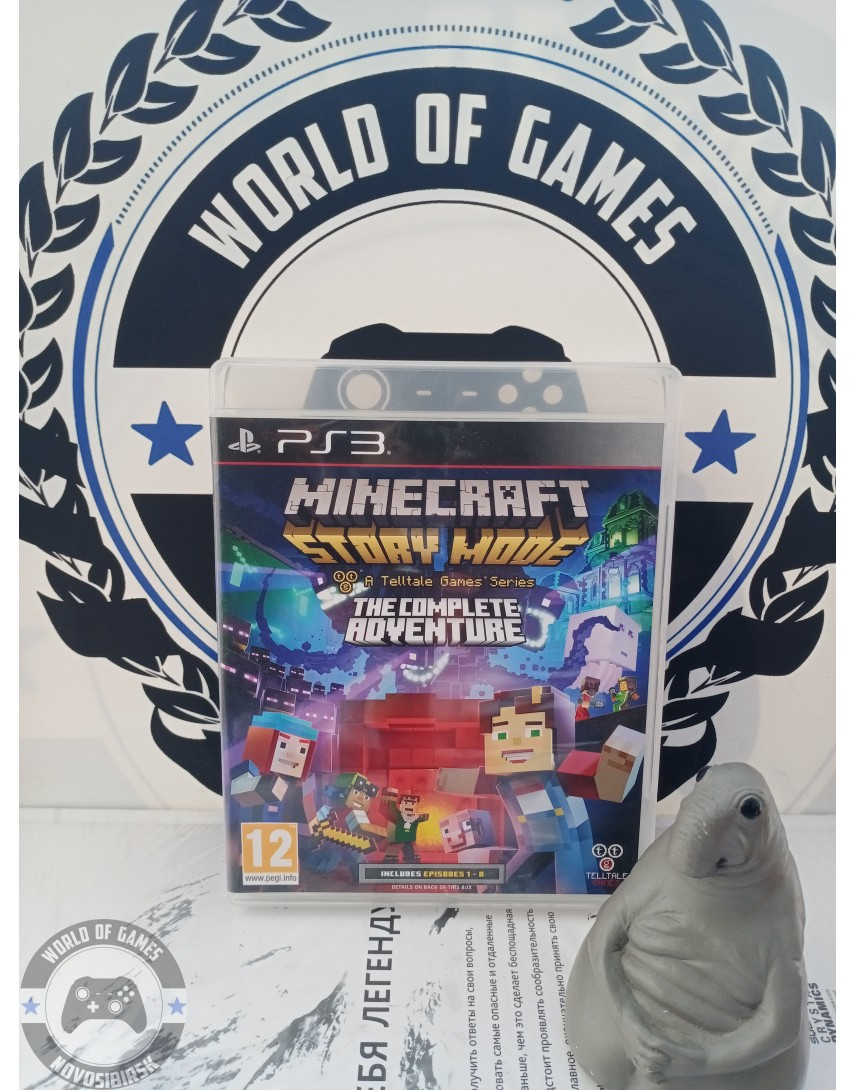 Minecraft Story Mode - A Telltale Games Series [PS3]