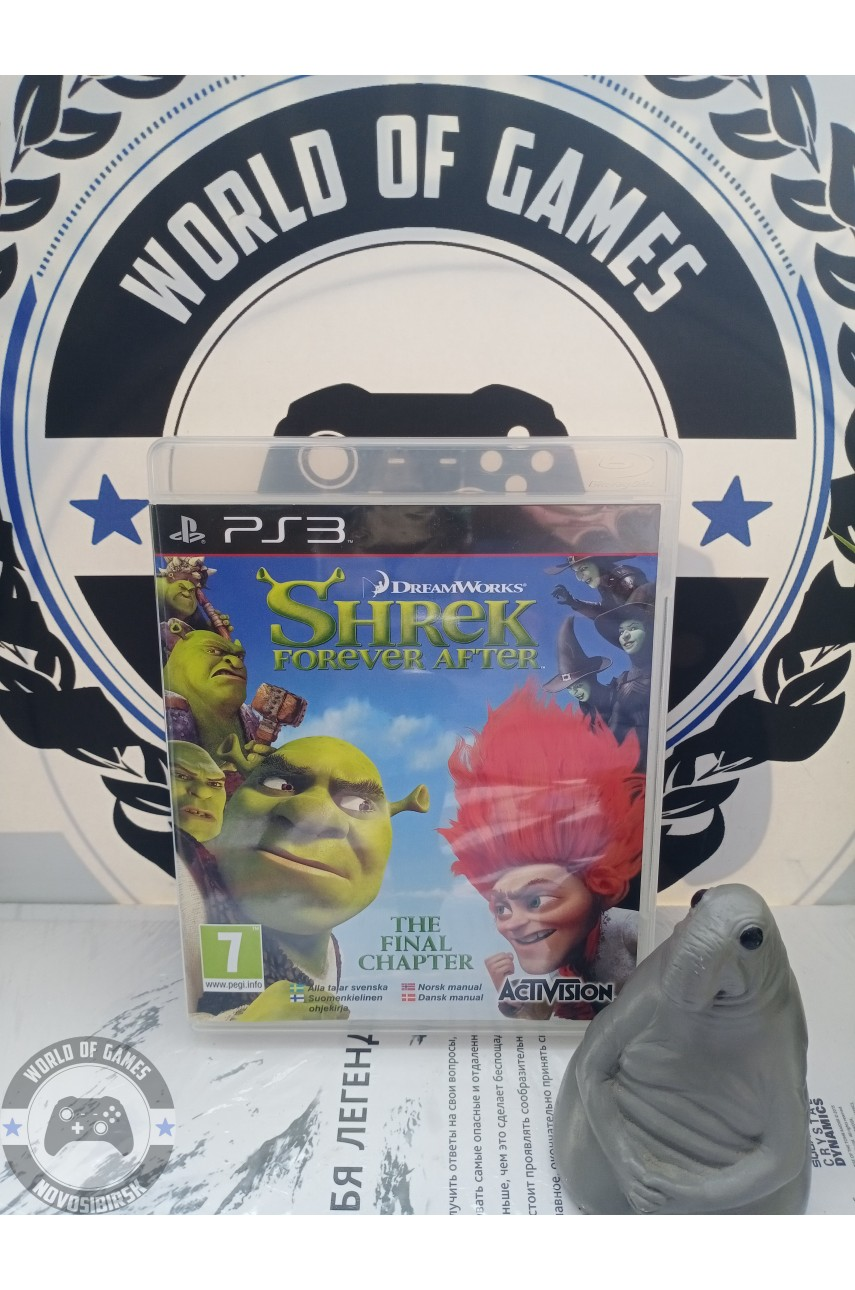 Shrek Forever After The Game [PS3]