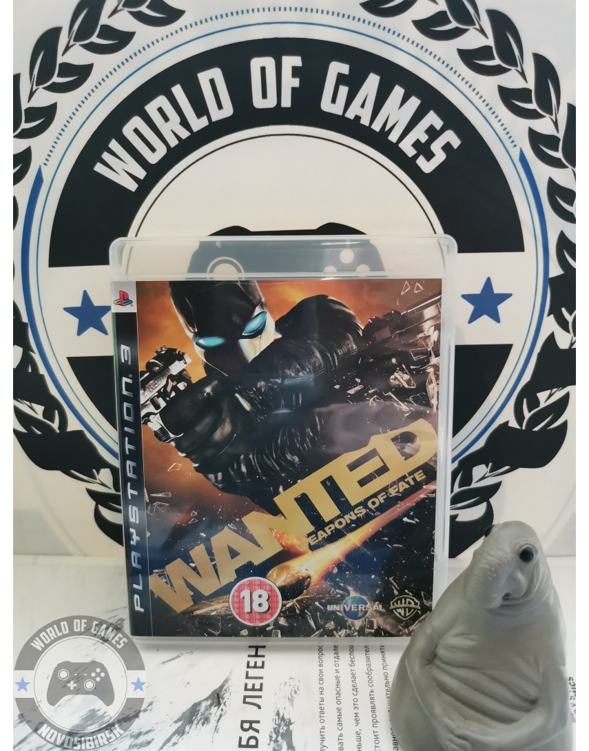 Wanted Weapons of Fate [PS3]