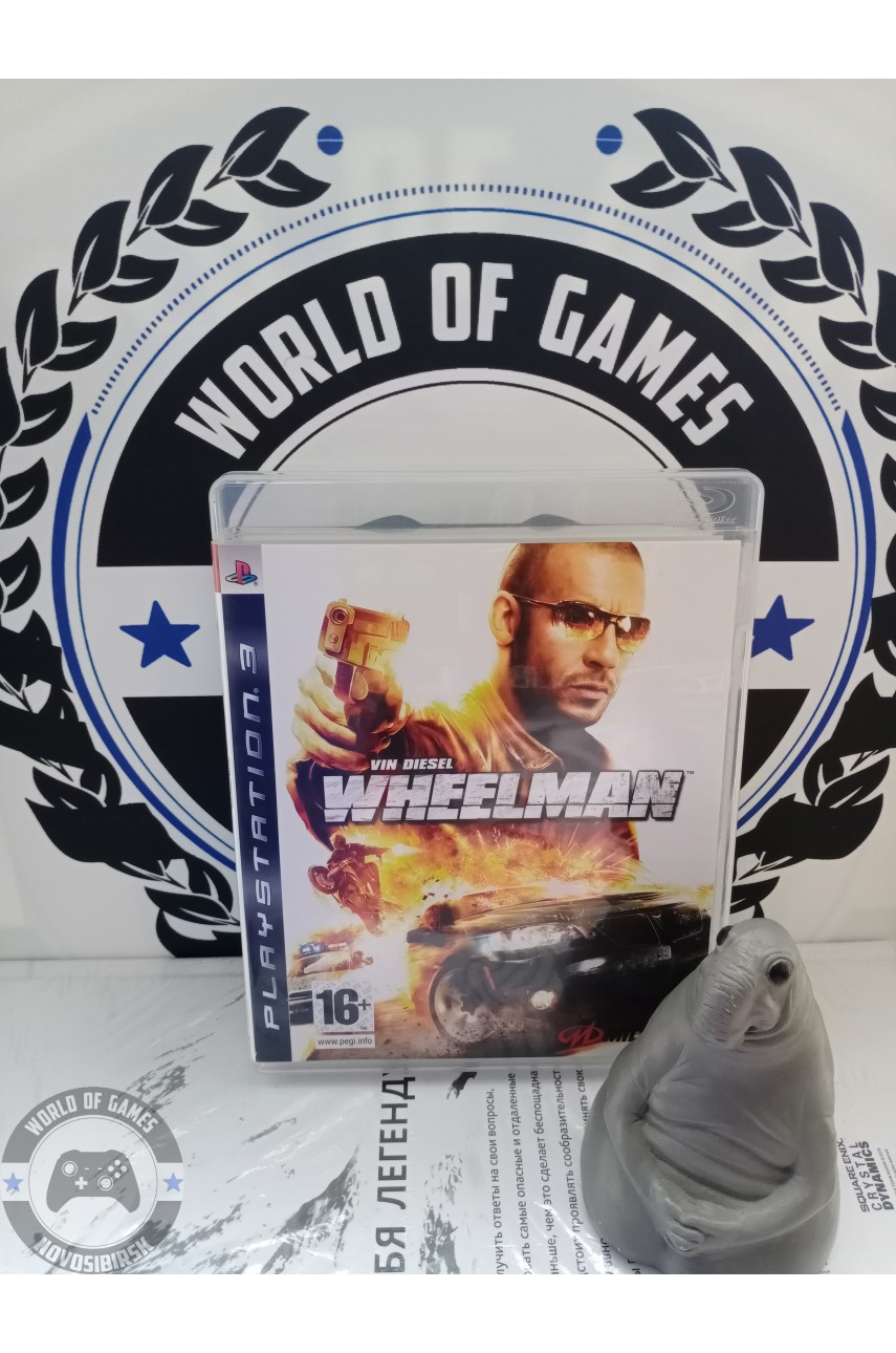 Вин Дизель Wheelman [PS3]
