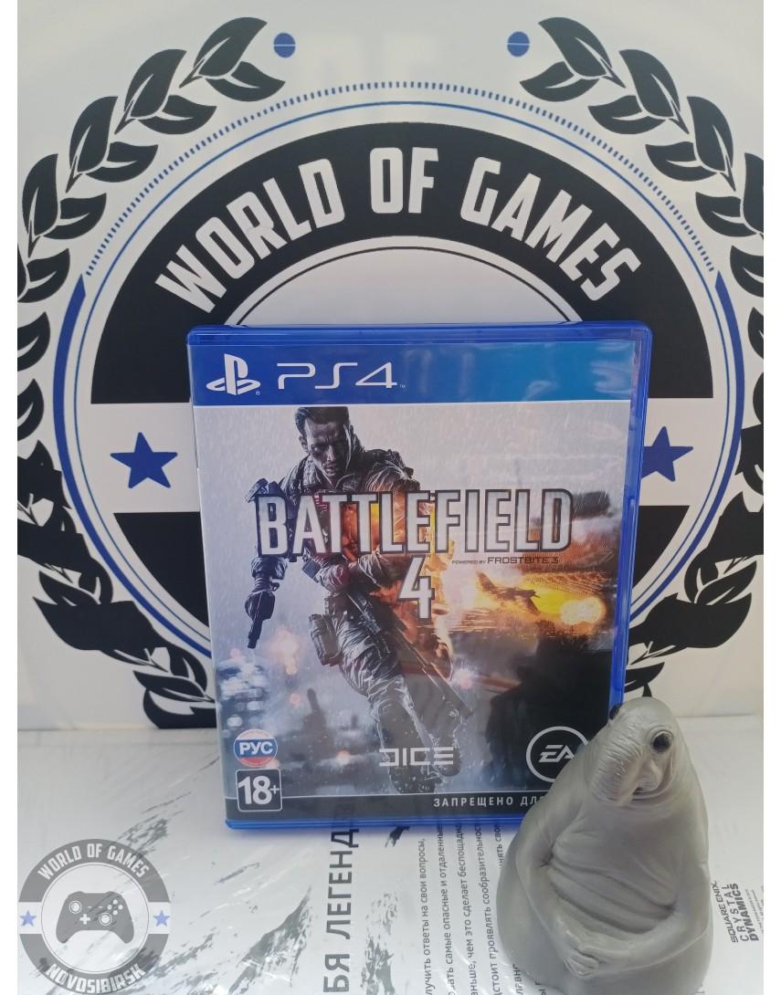 Купить Battlefield 4 [PS4] в Новосибирске