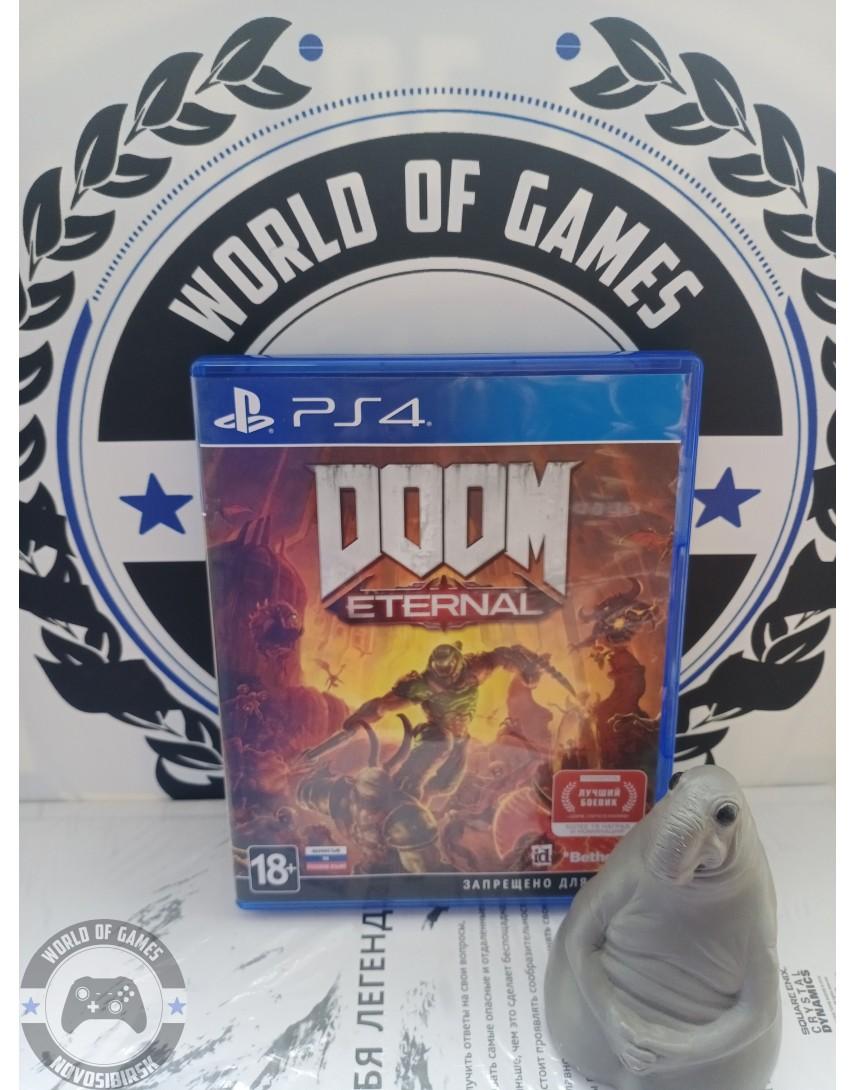 Купить Doom Eternal [PS4] в Новосибирске