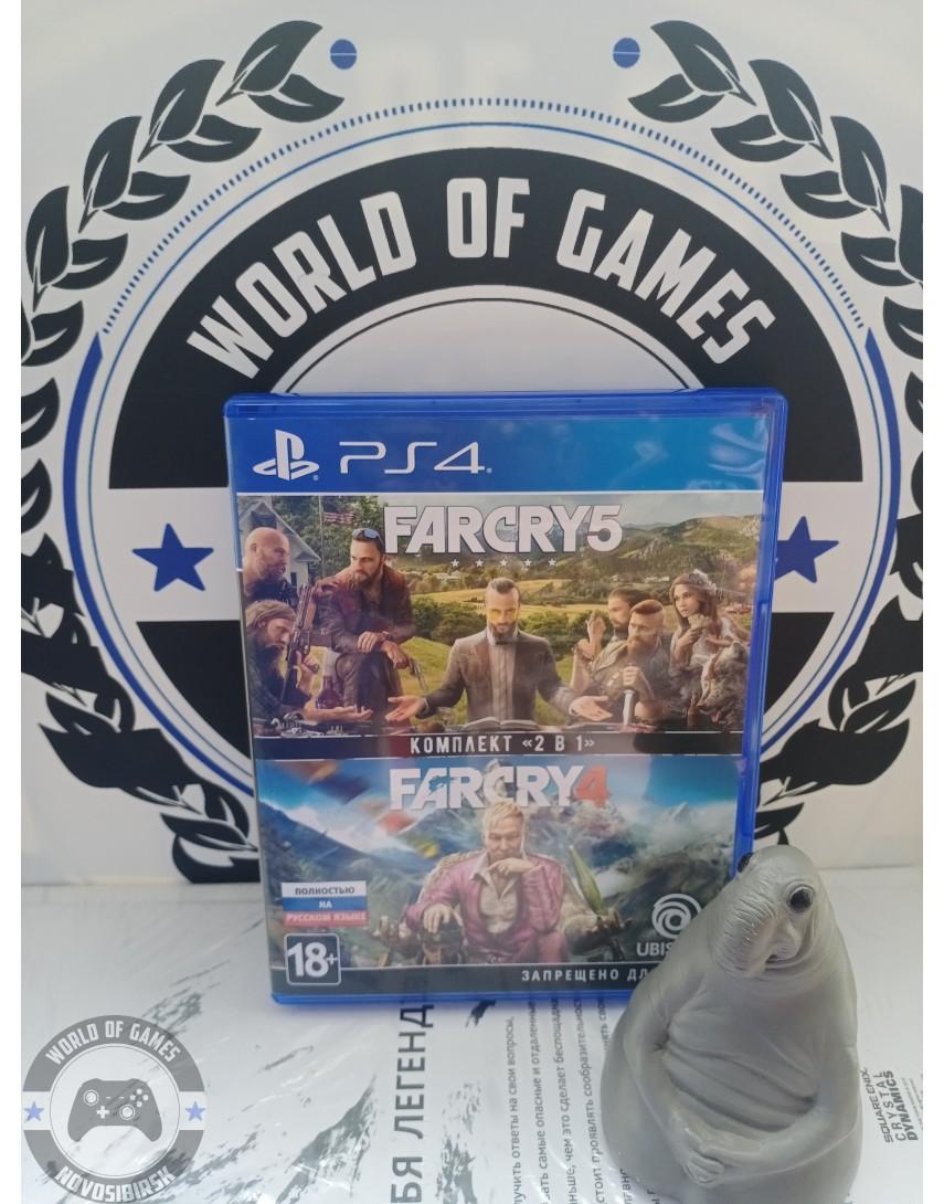 Купить Far Cry Комплект 2 в 1 [PS4] в Новосибирске
