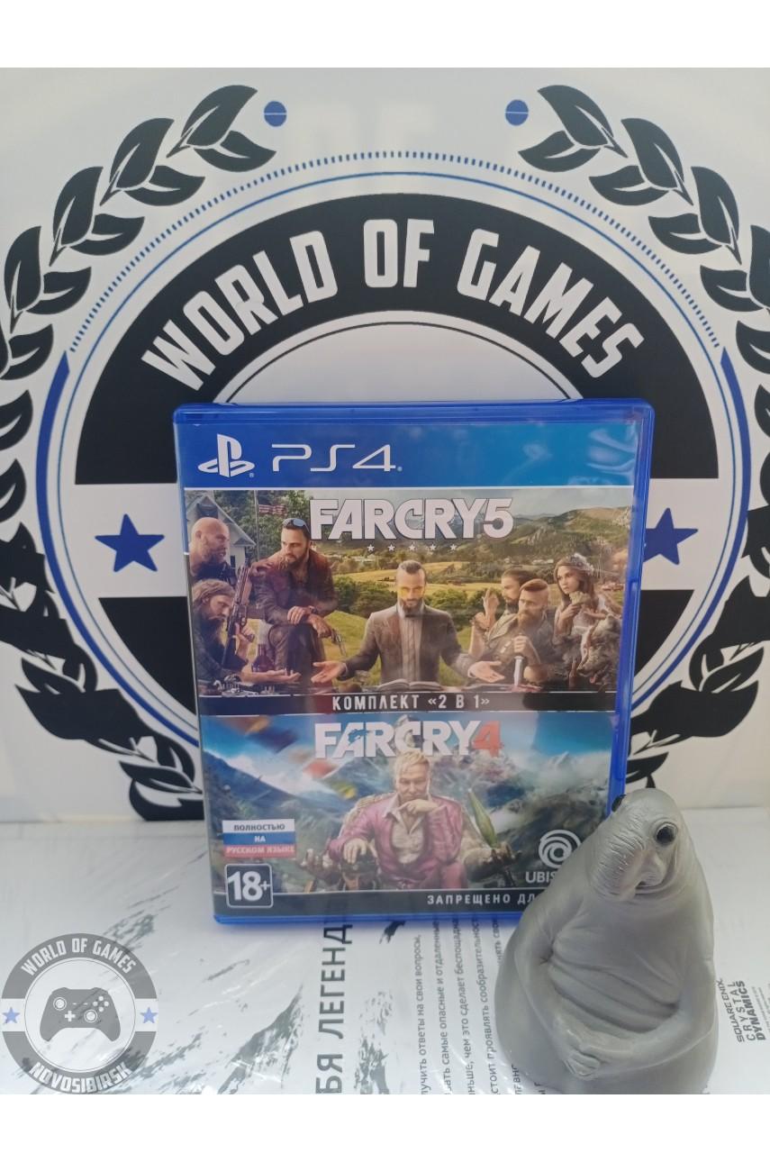 Far Cry Комплект 2 в 1 [PS4]