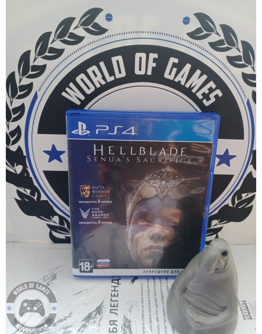 Купить Hellblade Senua's Sacrifice [PS4] в Новосибирске