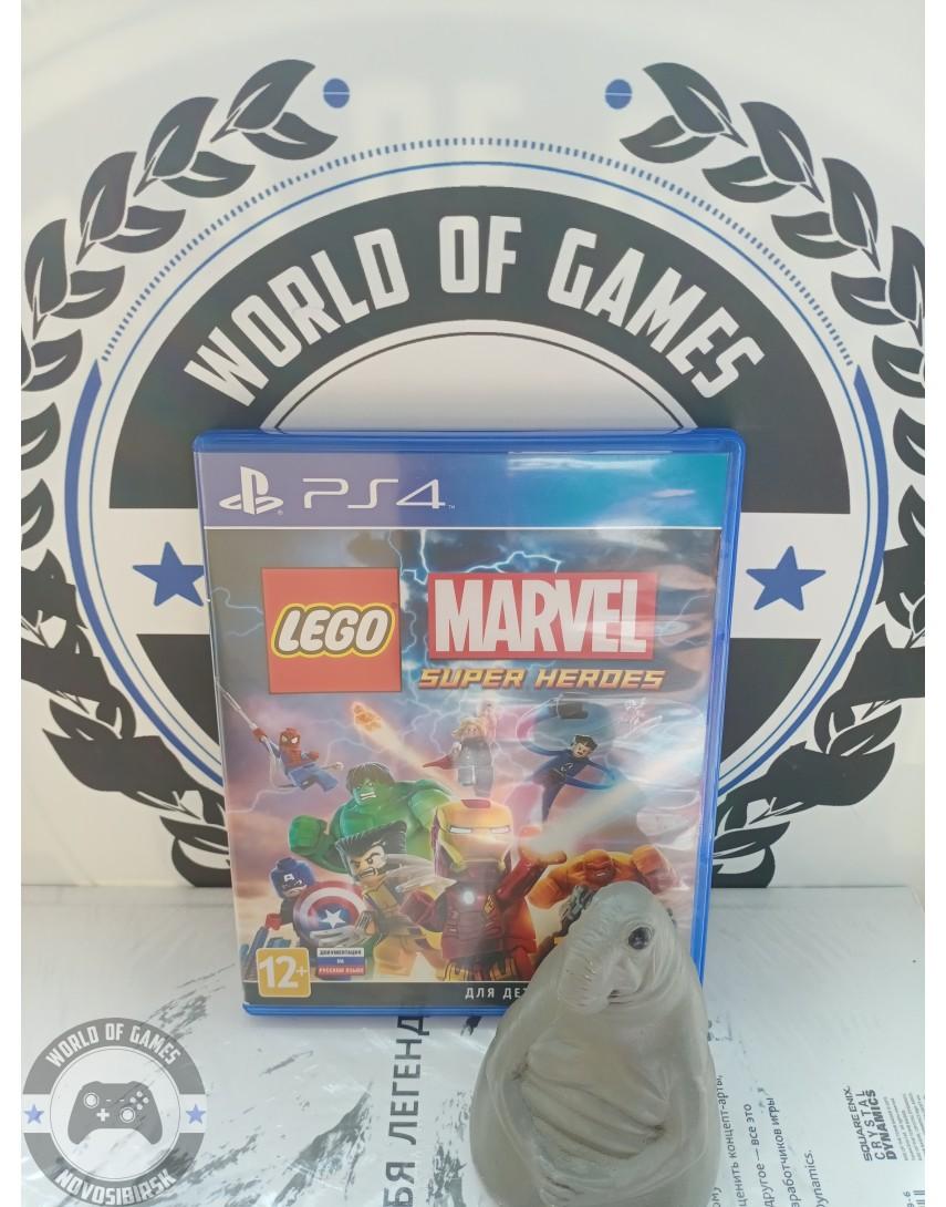 Купить LEGO Marvel Super Heroes [PS4] в Новосибирске