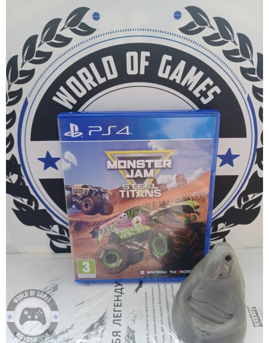 Купить Monster Jam Steel Titans [PS4] в Новосибирске
