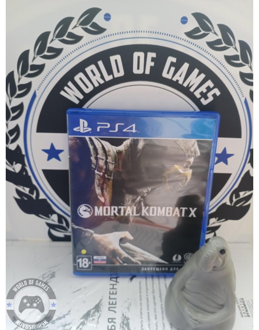 Купить Mortal Kombat X [PS4] в Новосибирске