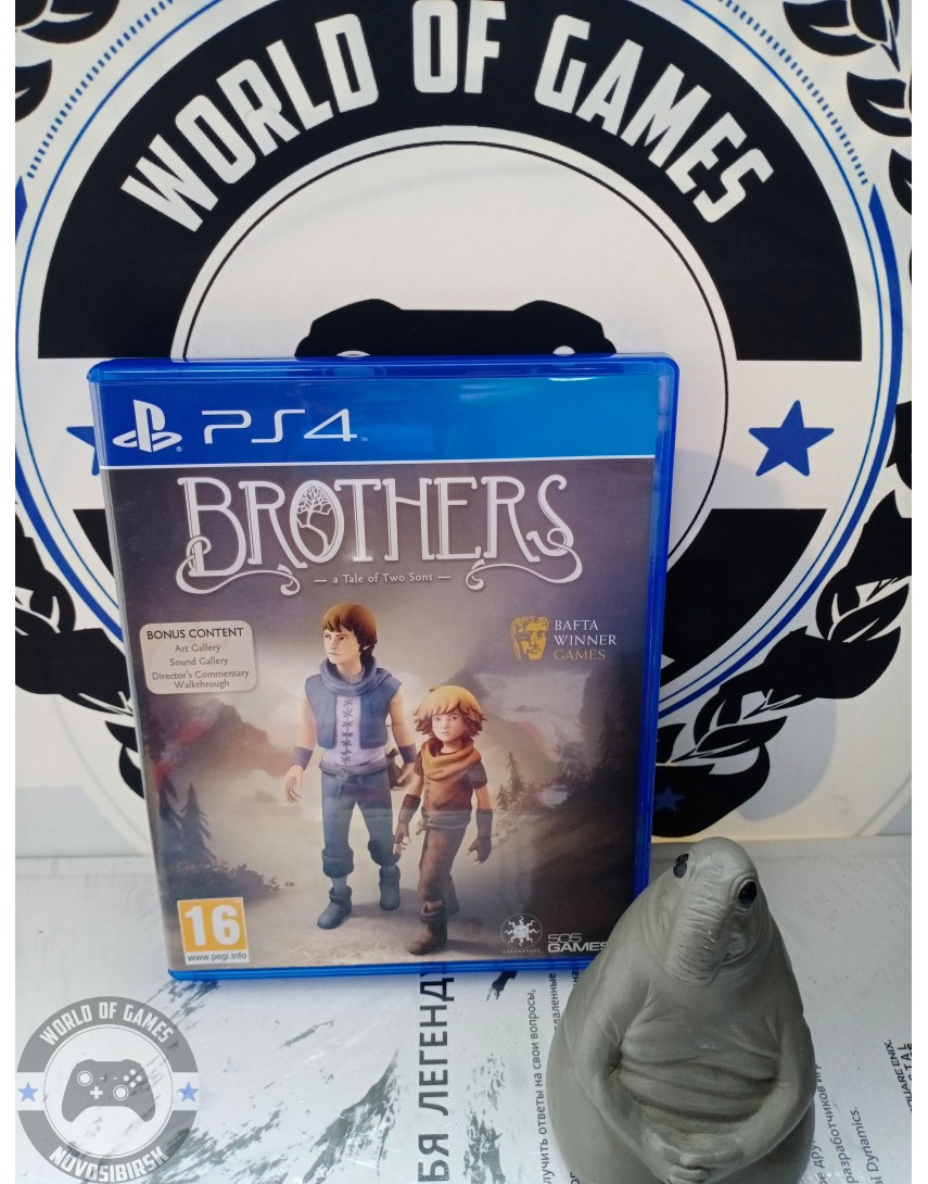 Купить Brothers A Tale of Two Sons [PS4] в Новосибирске