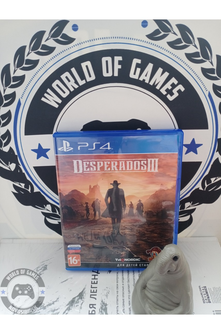 Desperados 3 [PS4]