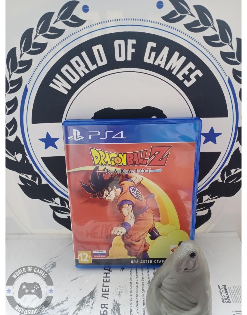 Купить Dragon Ball Z Kakarot [PS4] в Новосибирске