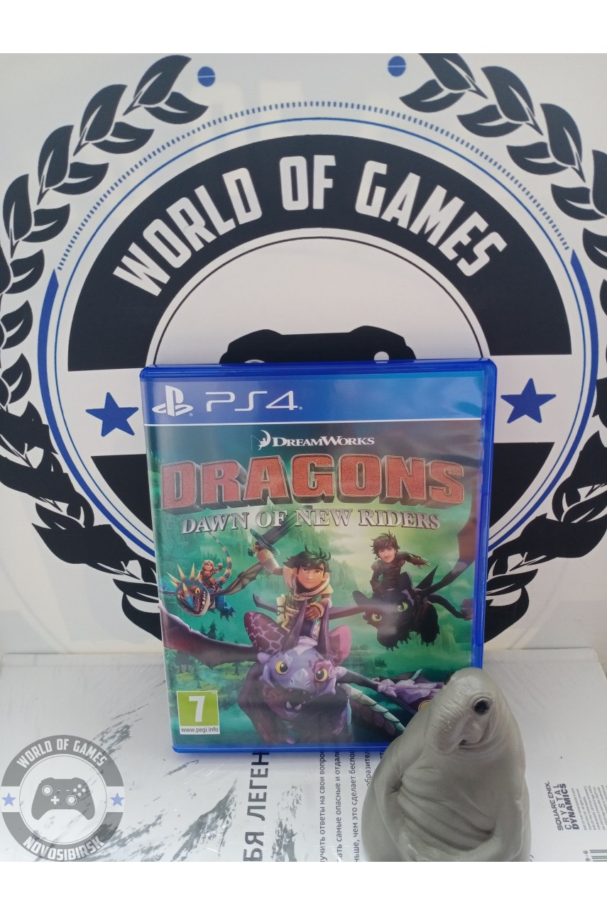 DreamWorks Dragons Dawn of New Riders [PS4]