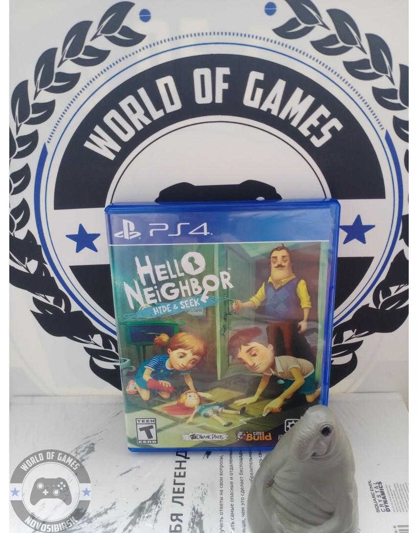 Купить Hello Neighbor Hide and Seek [PS4] в Новосибирске