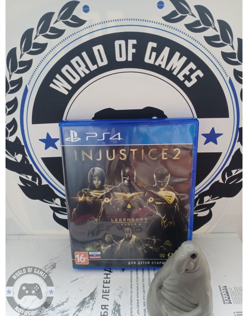 Injustice 2 Legendary Edition [PS4]