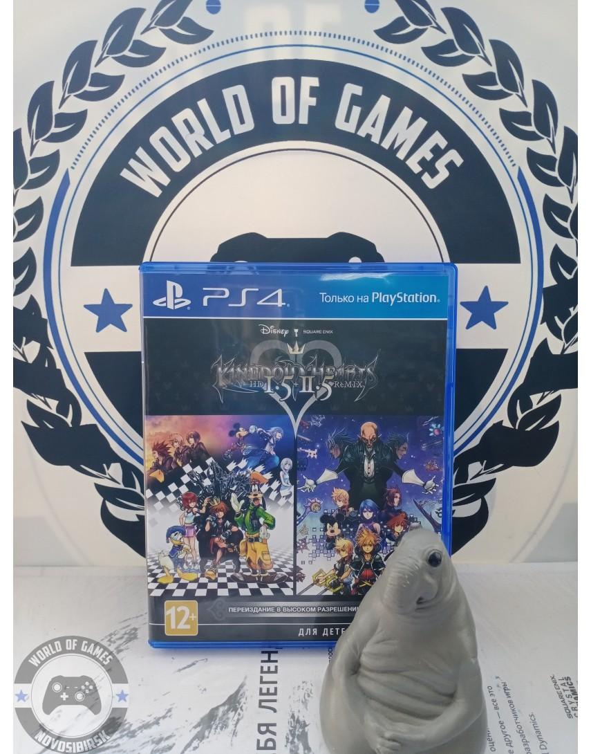Kingdom Hearts HD 1.5 + 2.5 Remix [PS4]