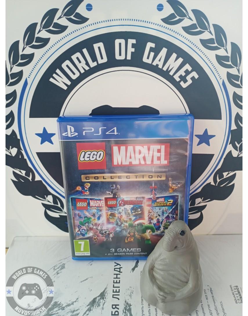 Купить LEGO Marvel Collection [PS4] в Новосибирске