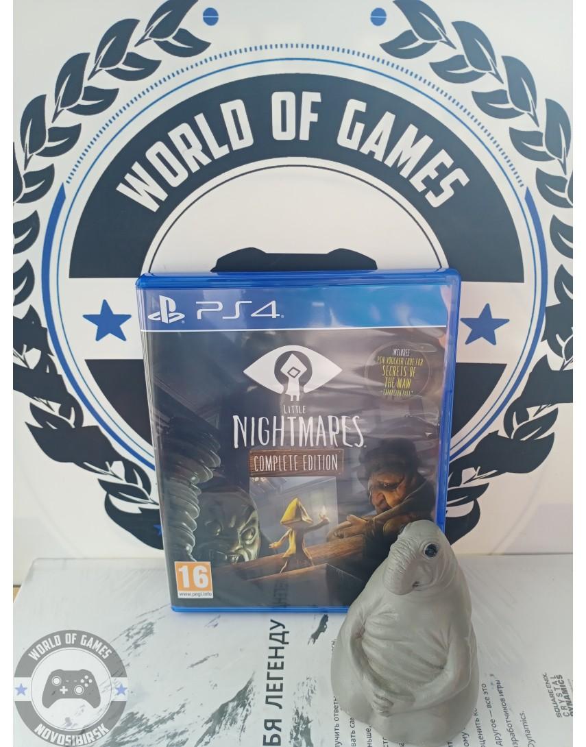 Купить Little Nightmares Complete Edition [PS4] в Новосибирске