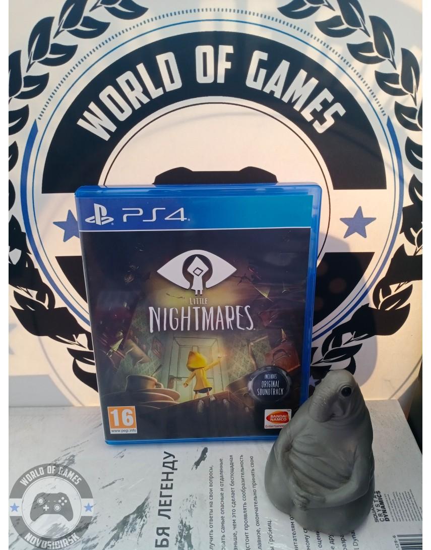 Купить Little Nightmares [PS4] в Новосибирске