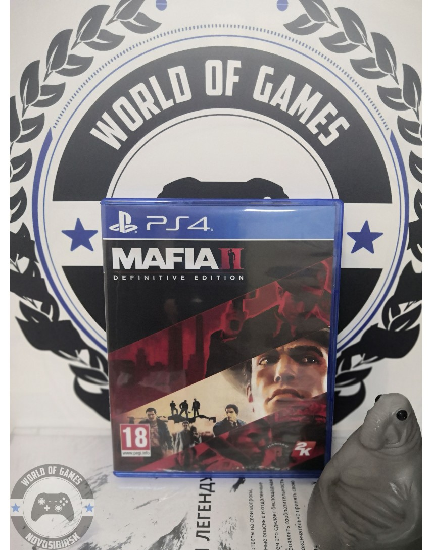 Купить Mafia 2 Definitive Edition [PS4] в Новосибирске