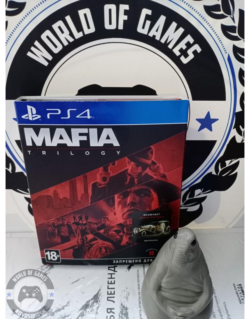Купить Mafia Trilogy [PS4] в Новосибирске