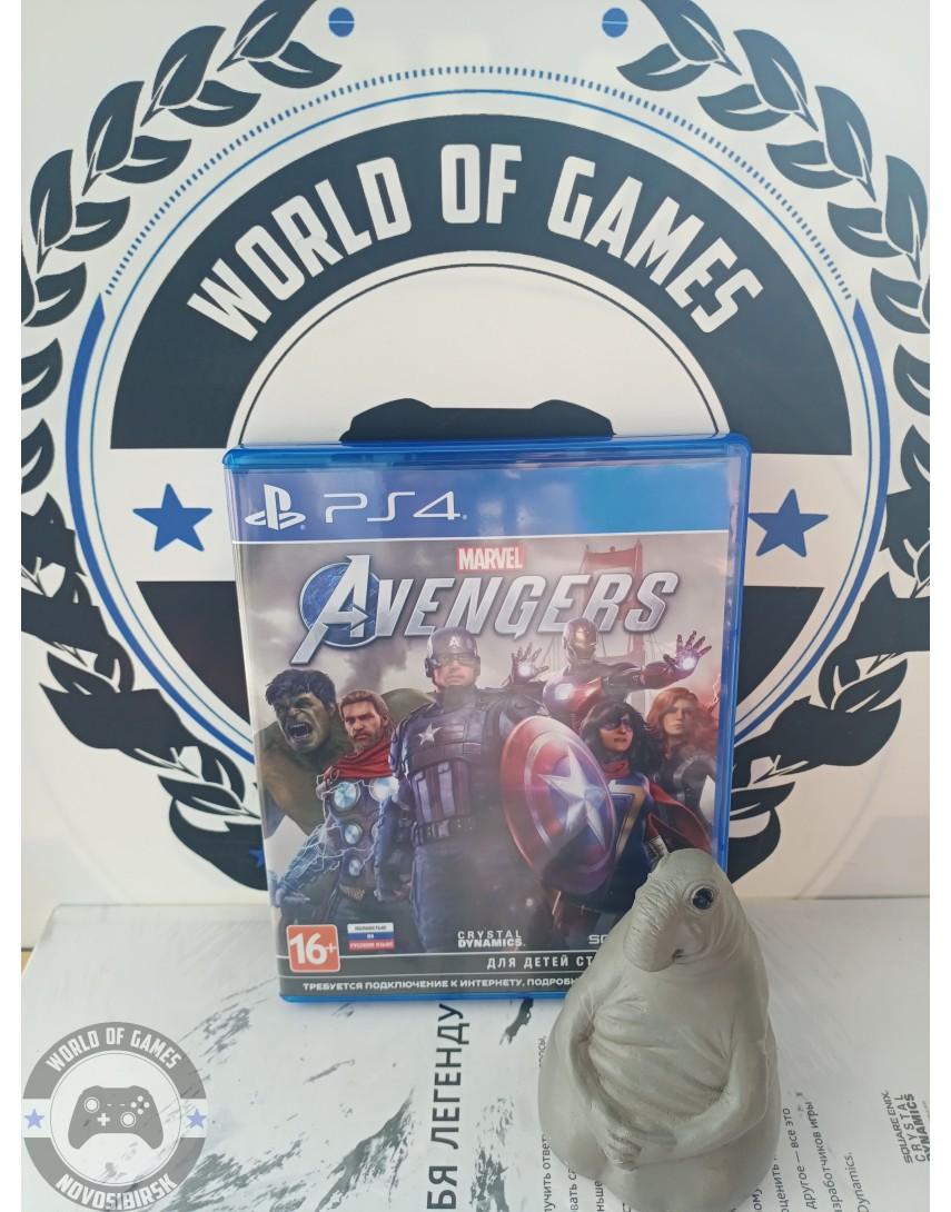 Купить Marvel Avengers [PS4] в Новосибирске