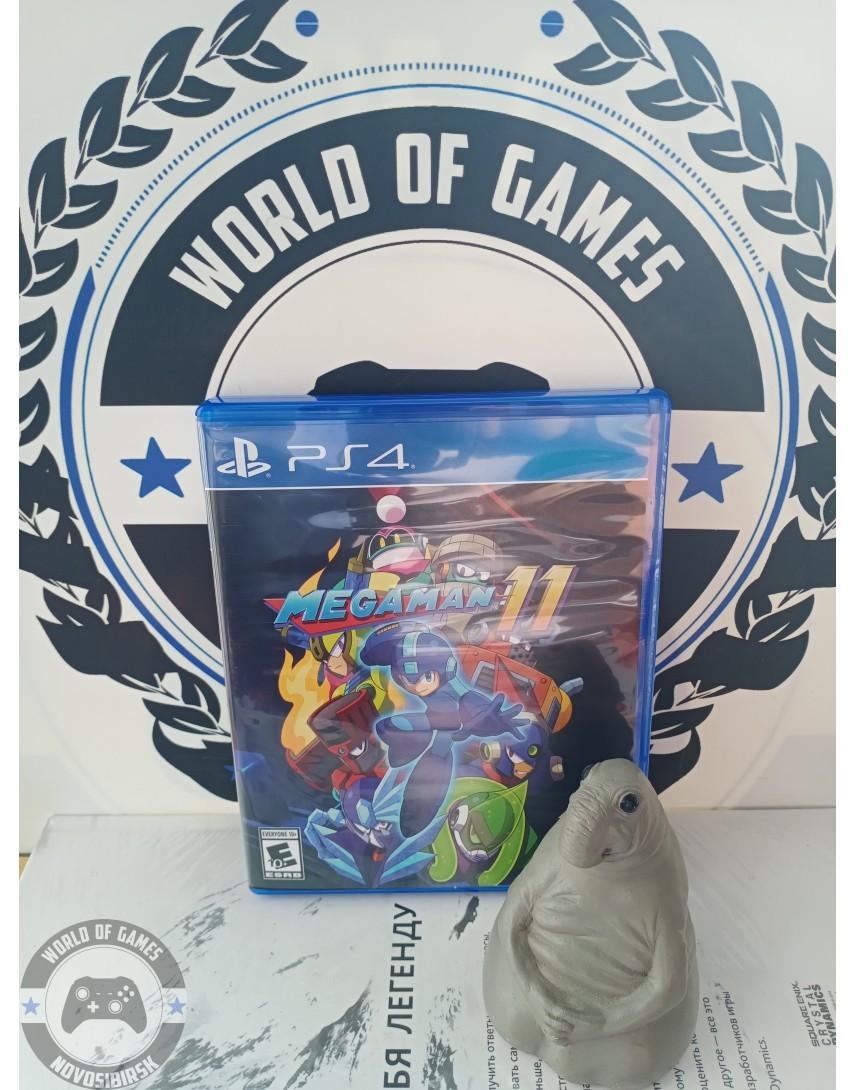 Купить Mega Man 11 [PS4] в Новосибирске