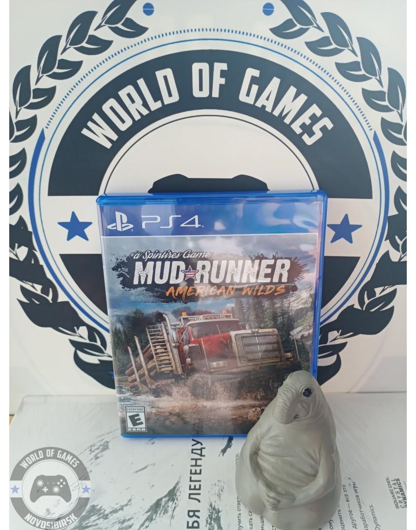 Купить Spintires MudRunner American Wilds [PS4] в Новосибирске