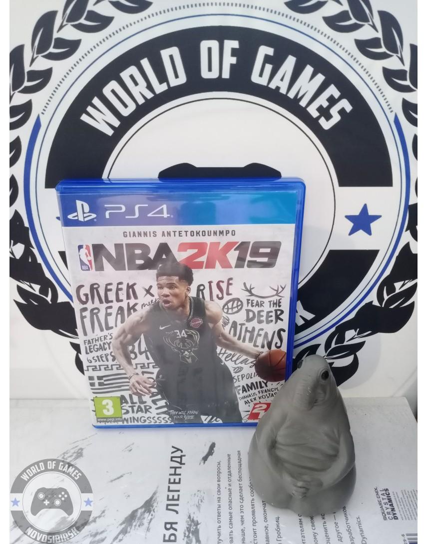 Купить NBA2K19 [PS4] в Новосибирске