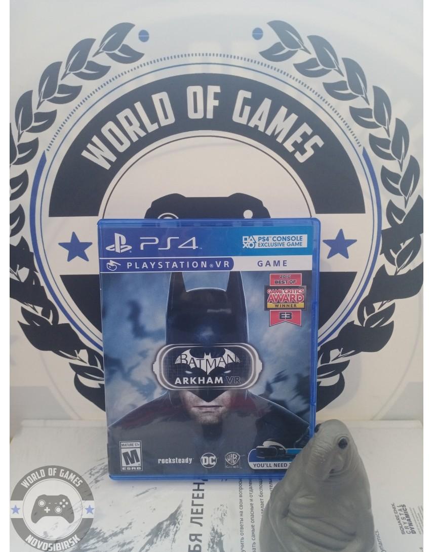 Batman Arkham VR [PS4]