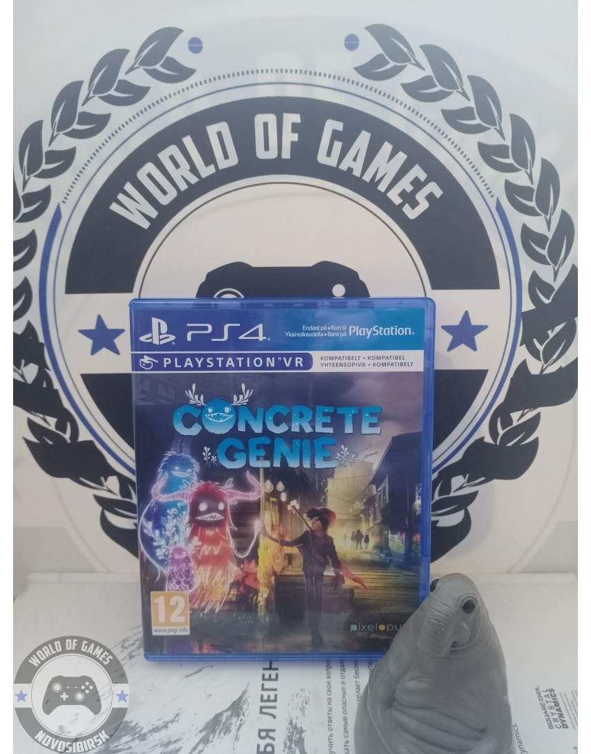Concrete Genie [PS4]