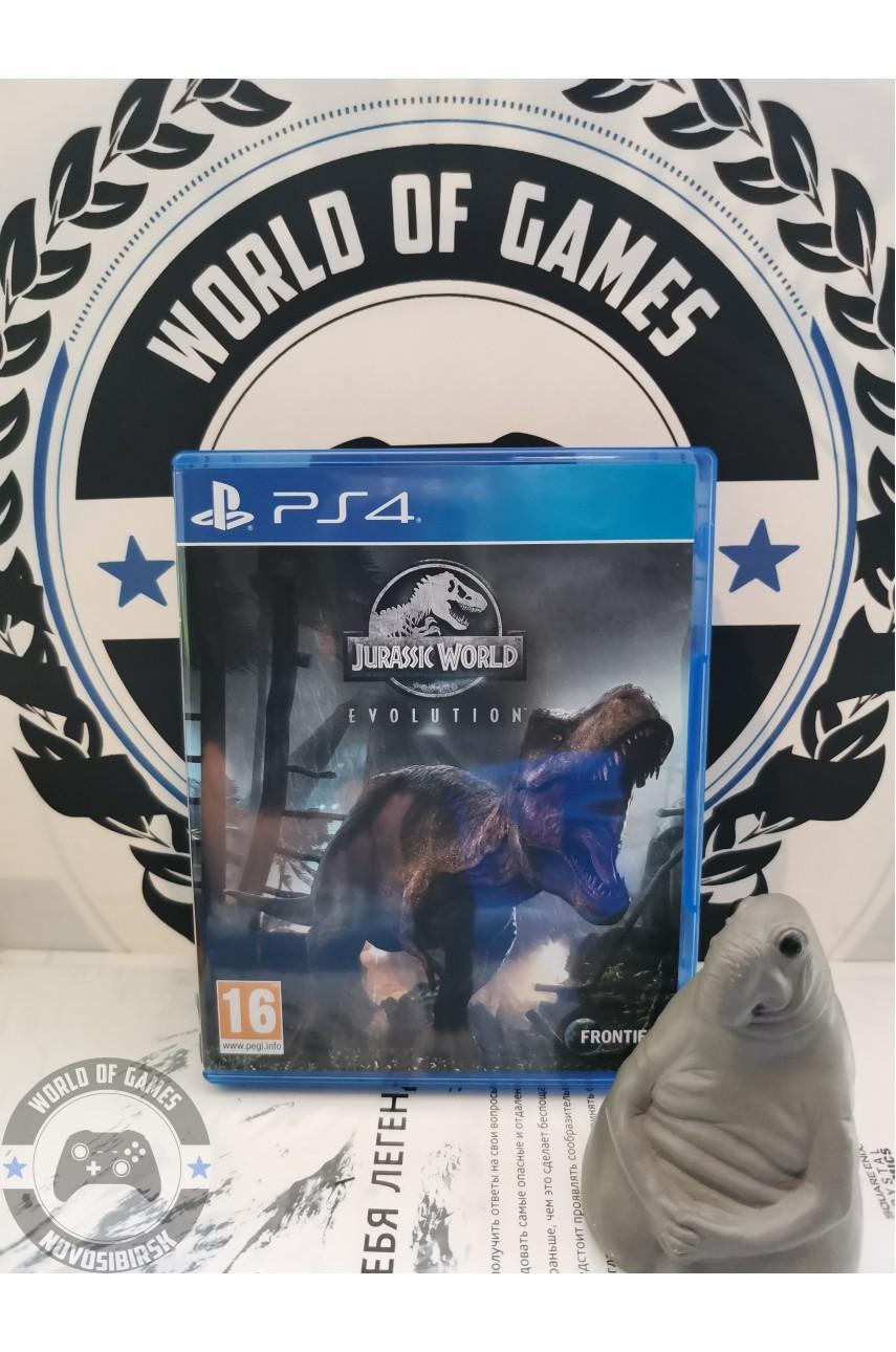 Jurassic Wolrd Evolution [PS4]