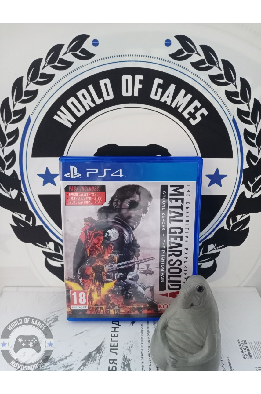 Metal Gear Solid 5 The Difinitive Experience [PS4]