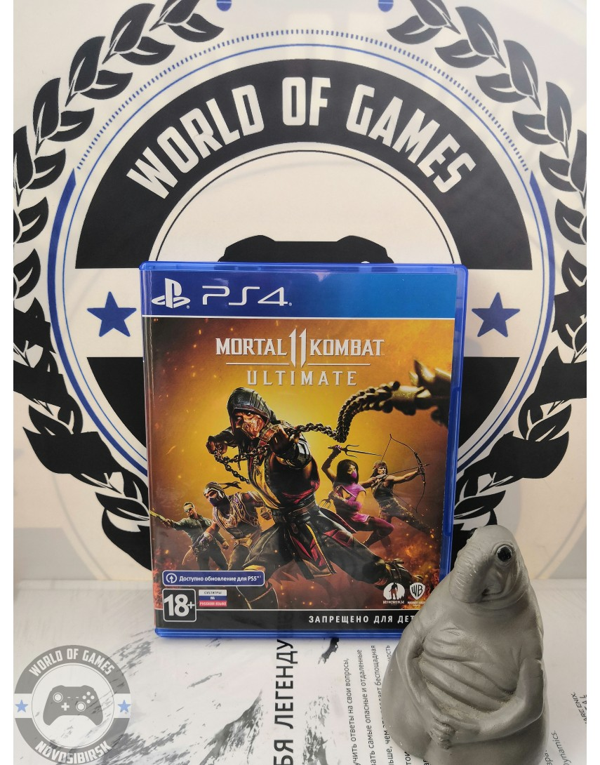 Mortal Kombat 11 Ultimate Edition [PS4]