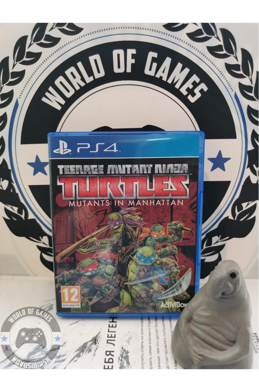 Teenage Mutant Ninja Turtles Mutants in Manhattan [PS4]