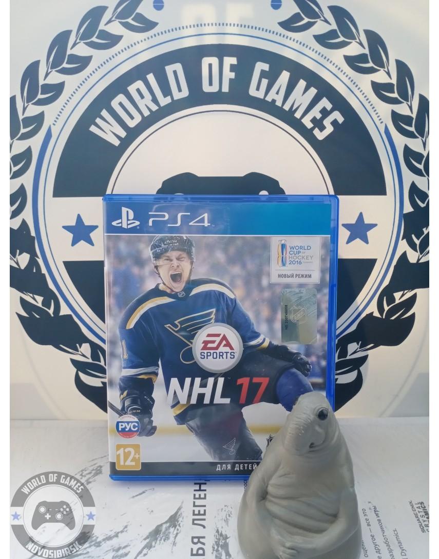 Купить NHL 17 [PS4] в Новосибирске