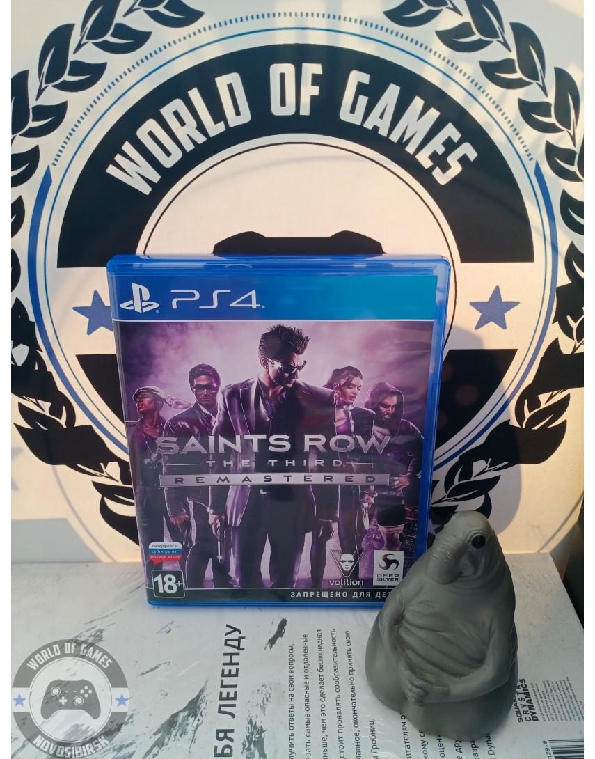 Купить Saints Row The Third [PS4] в Новосибирске