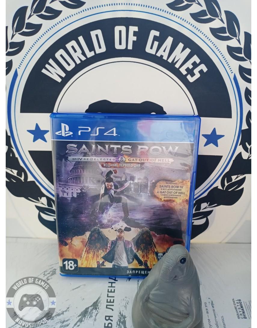 Купить Saints Row Double Pack [PS4] в Новосибирске