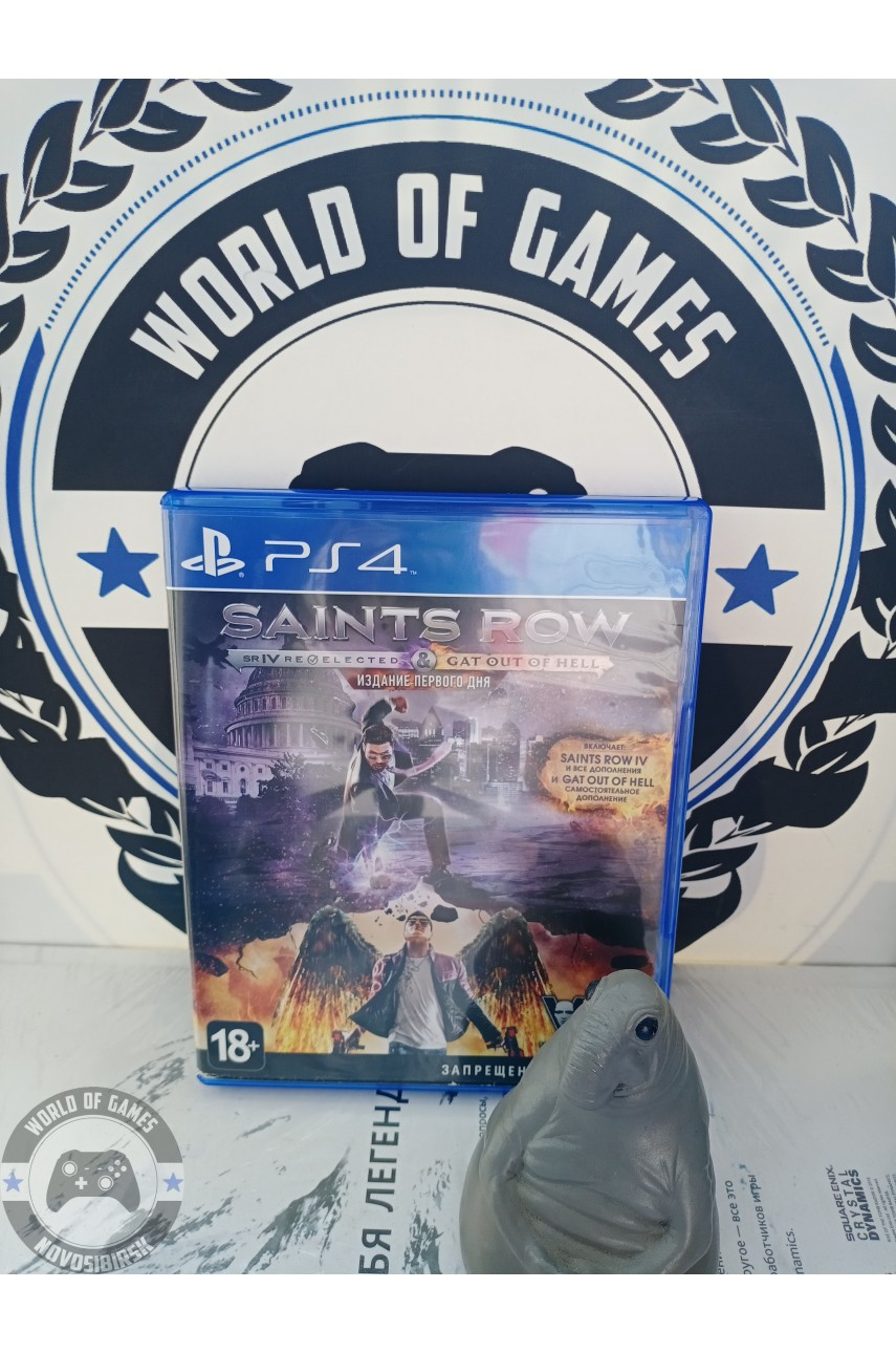 Saints Row Double Pack [PS4]