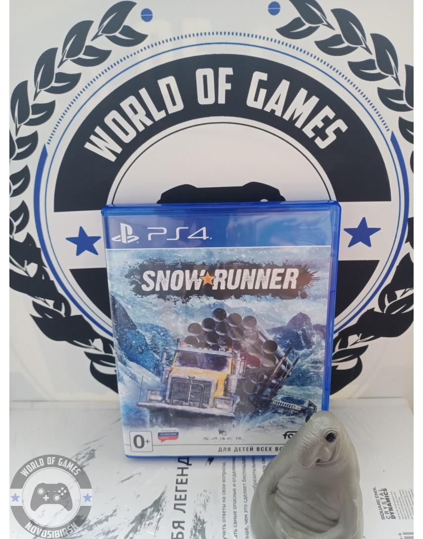 Купить SnowRunner [PS4] в Новосибирске