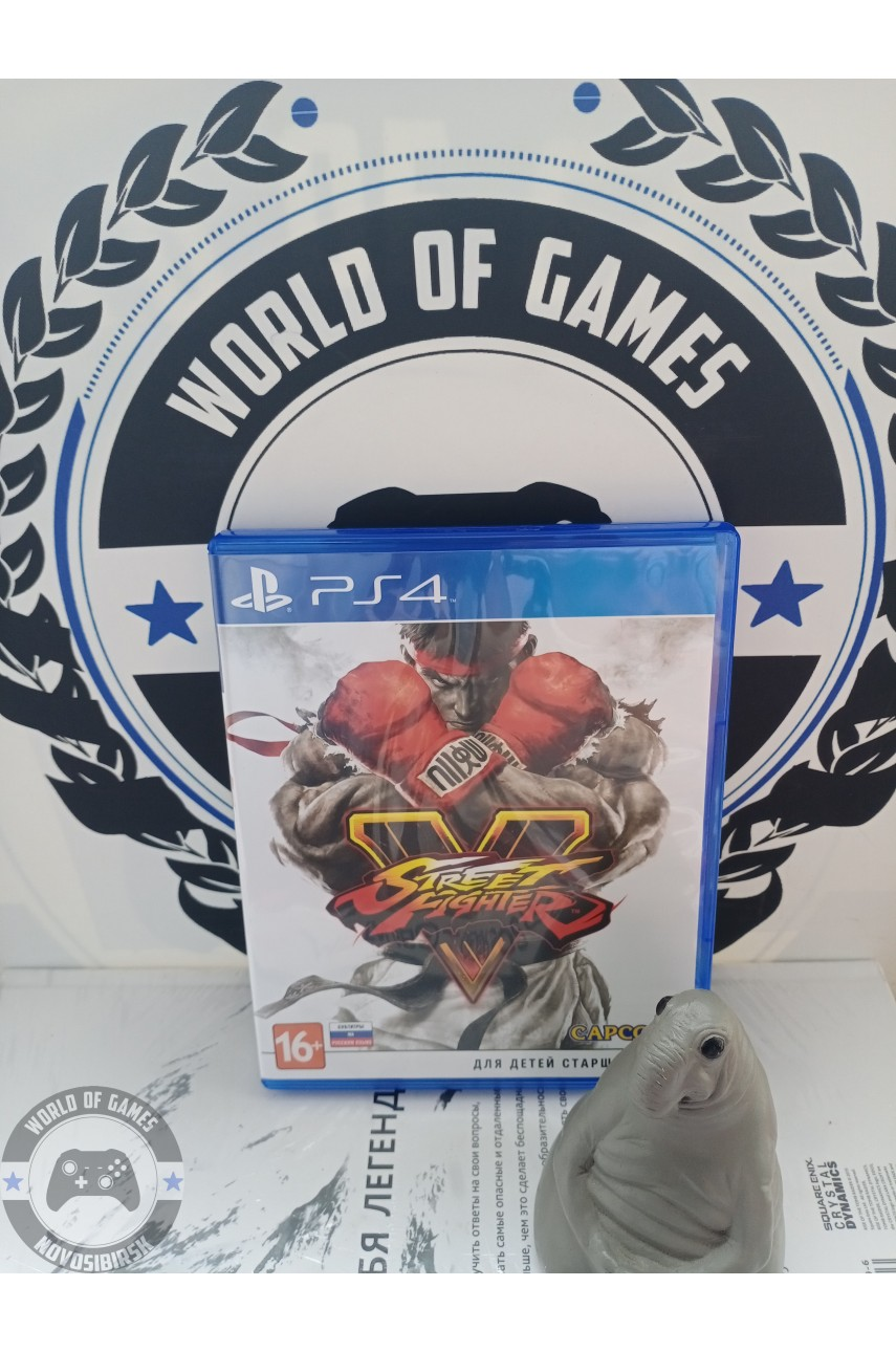 Street Fighter 5 [PS4]