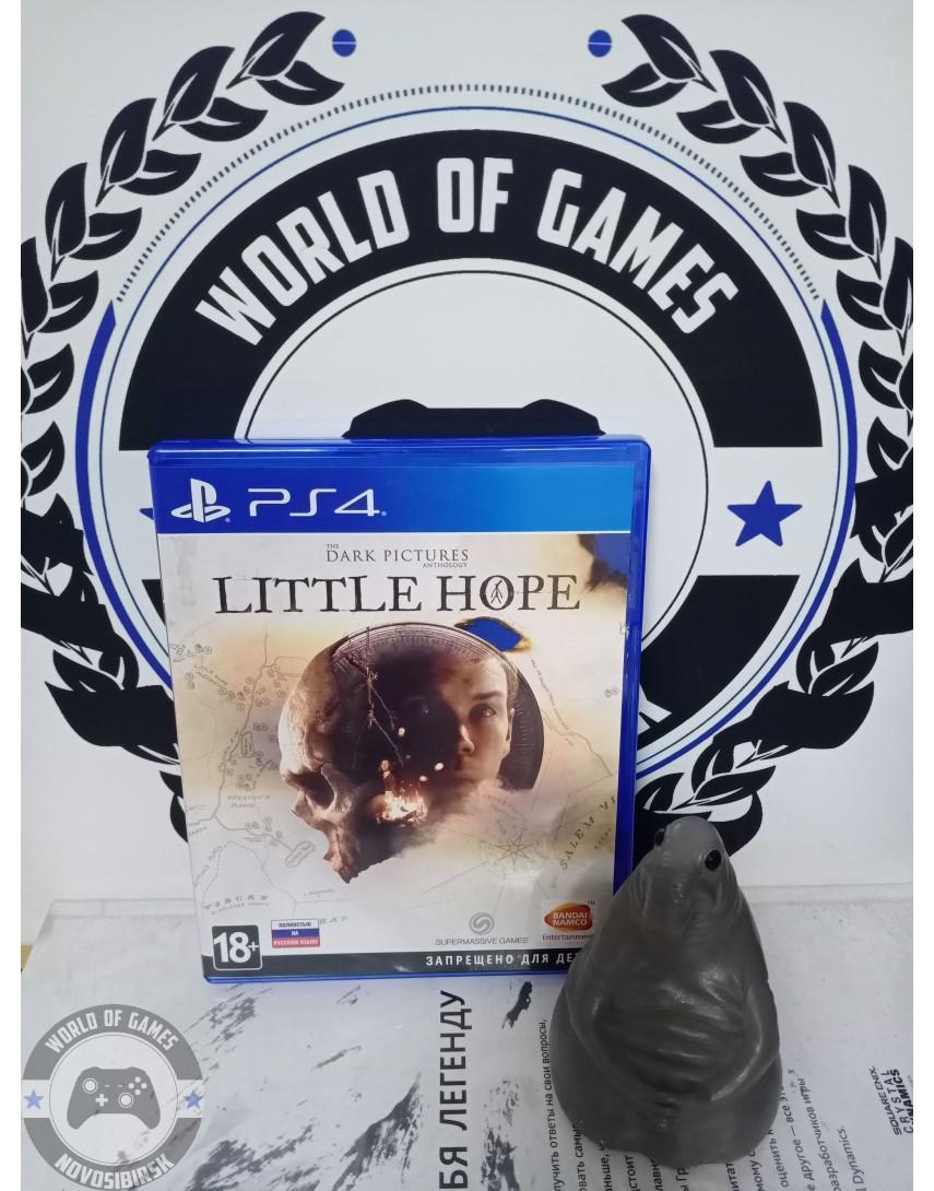 Купить The Dark Pictures Little Hope [PS4] в Новосибирске