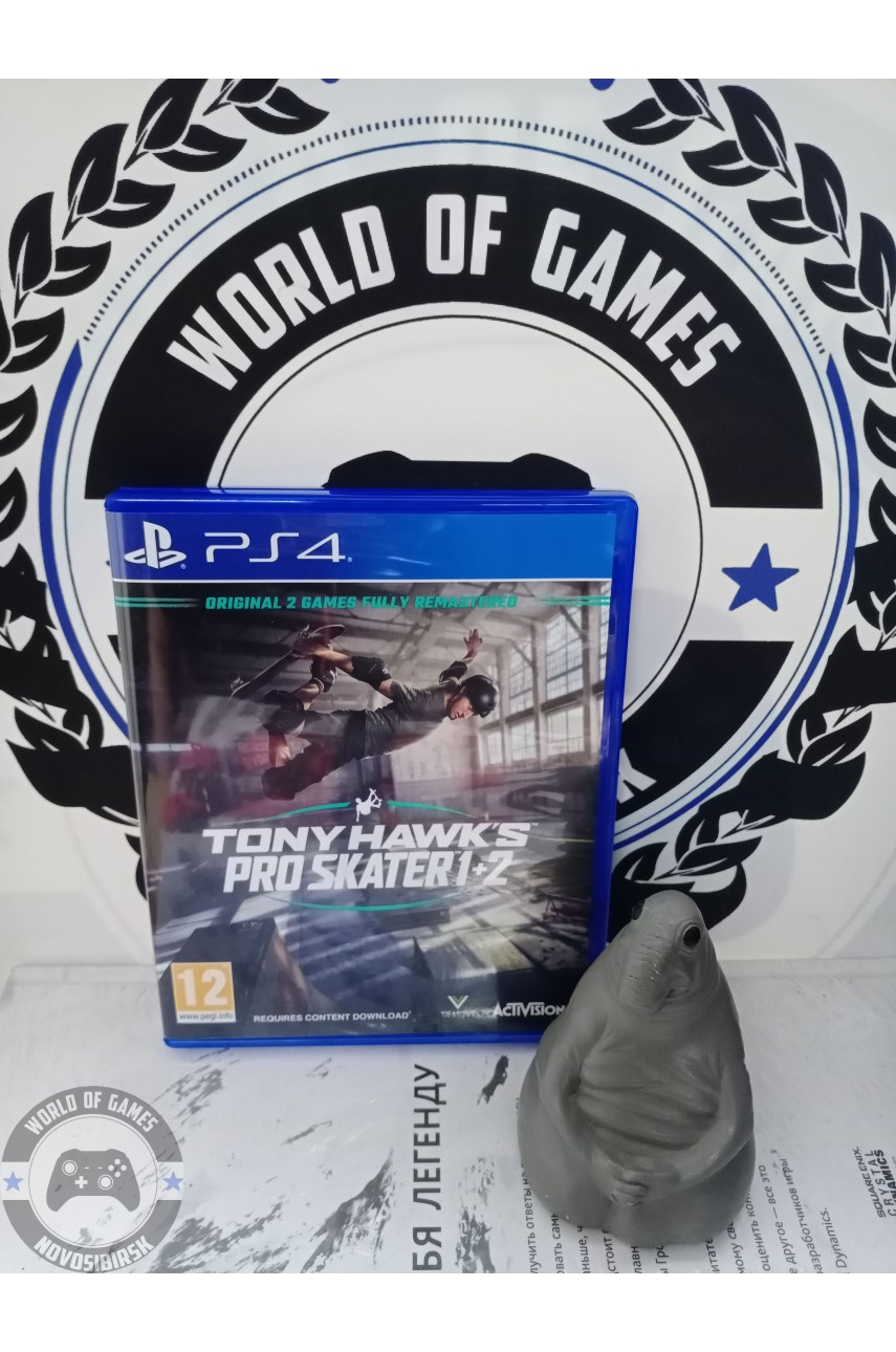 Tony Hawk's Pro Skater 1 and 2 [PS4]