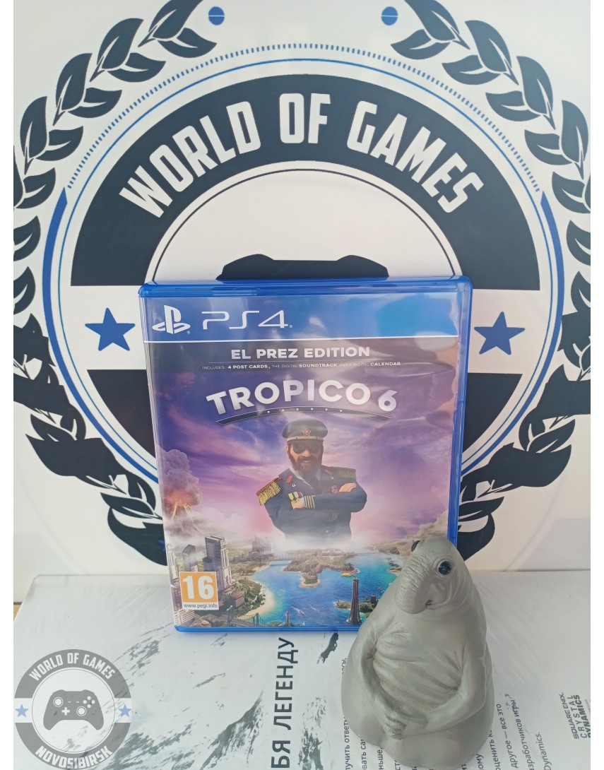 Купить Tropico 6 [PS4] в Новосибирске