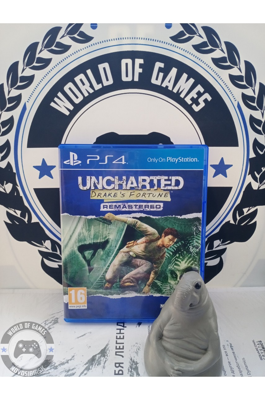 Uncharted Drake's Fortune Remastered [PS4]