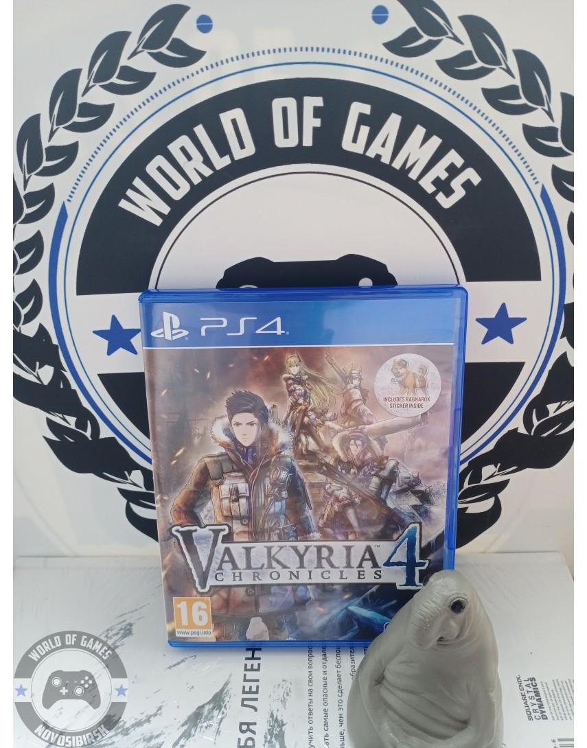 Купить Valkyria Chronicles 4 [PS4] в Новосибирске