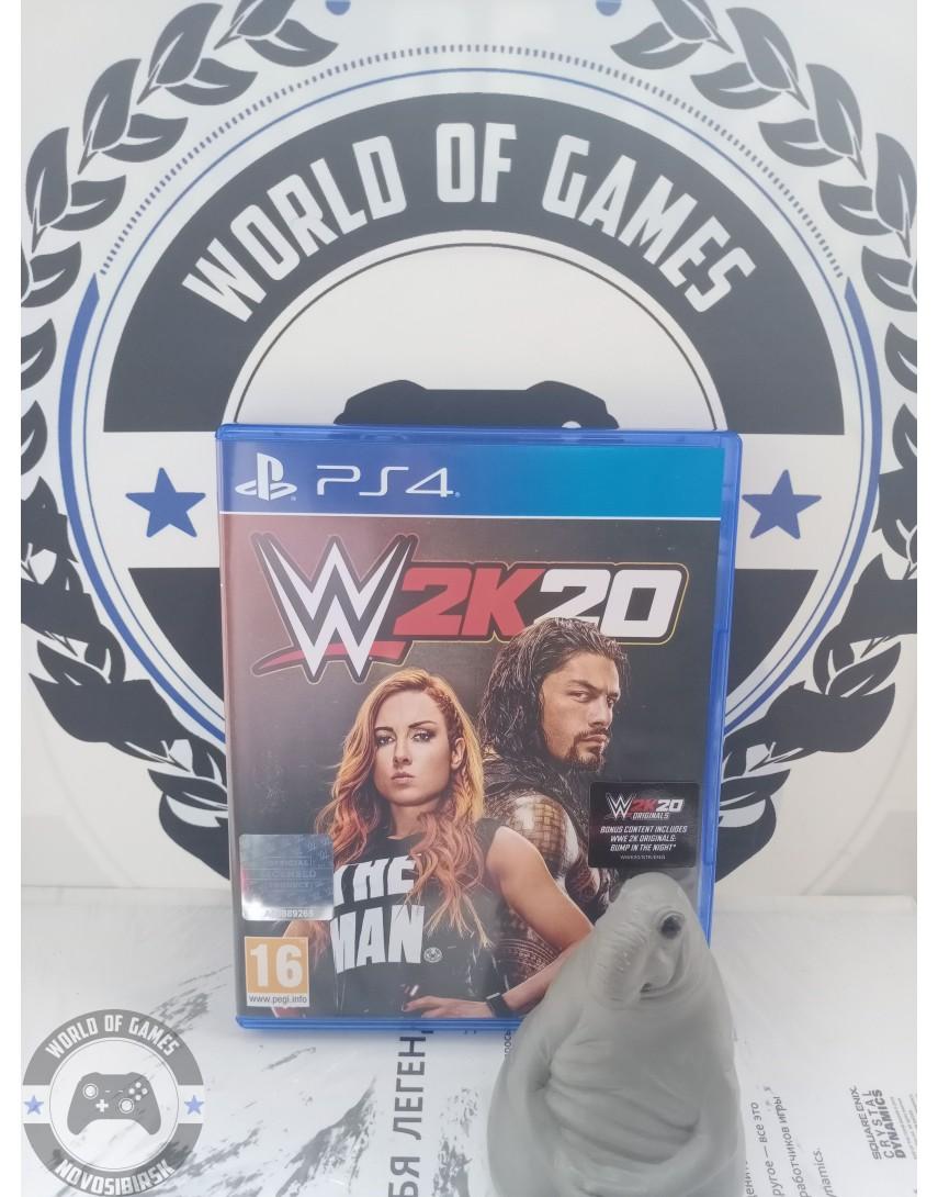Купить W2K20 [PS4] в Новосибирске