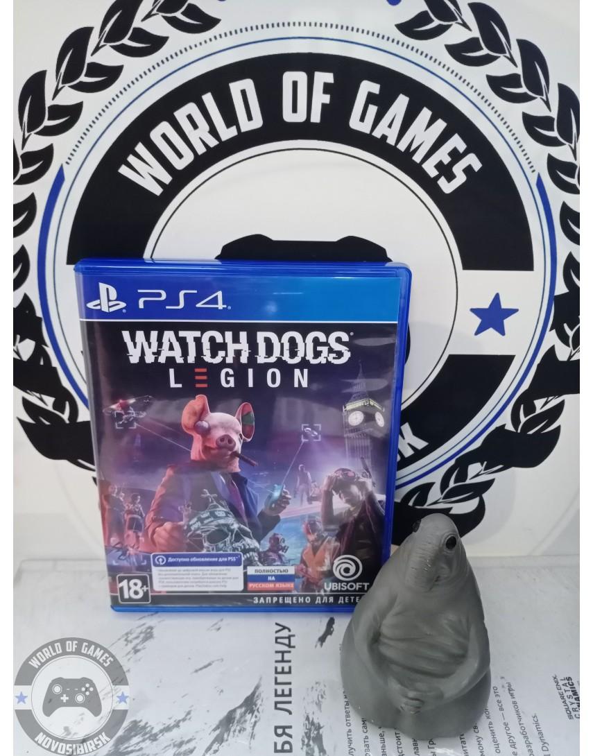 Купить Watch Dogs Legion [PS4] в Новосибирске