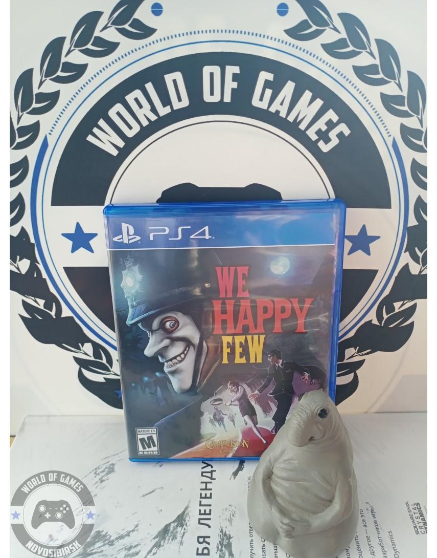 Купить We Happy Few [PS4] в Новосибирске