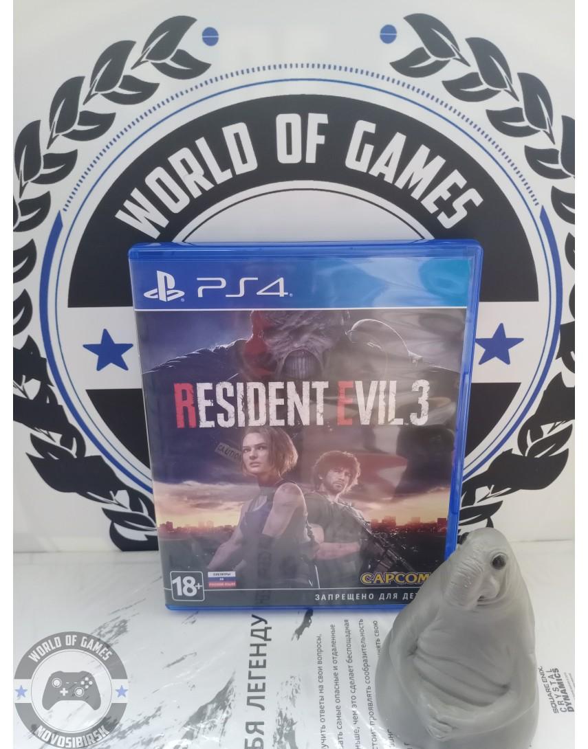 Купить Resident Evil 3 Remake [PS4] в Новосибирске