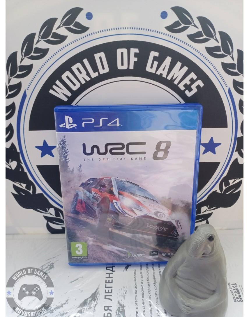 Купить WRC 8 [PS4] в Новосибирске